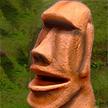 Stone Head Moai Tiki