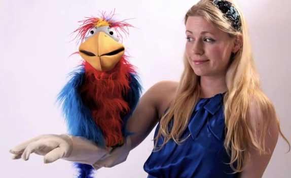 Bird Arm Illusion Sarah Jones