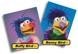 Baby Birds Puppets