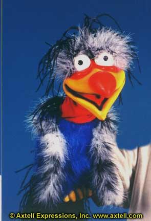 Buzzard Puppet