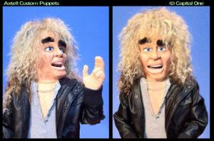 Capitol One Custom Puppet