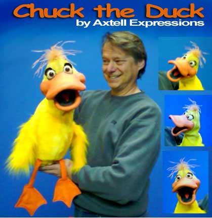 Chuck the Duck Puppet