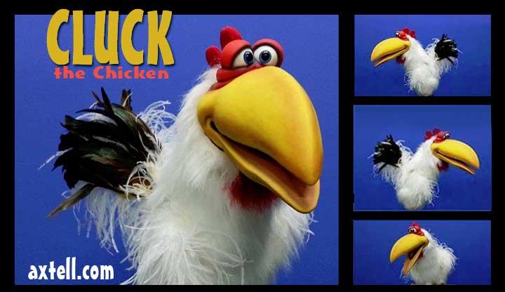 Cluck the Chicken Puppet