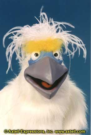 Cockatoo Puppet 1