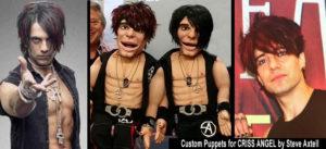 Custom puppet for Criss Angel