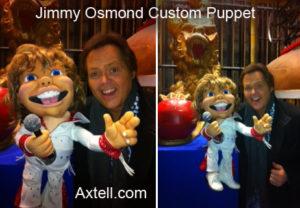 Jimmy Osmond Puppet