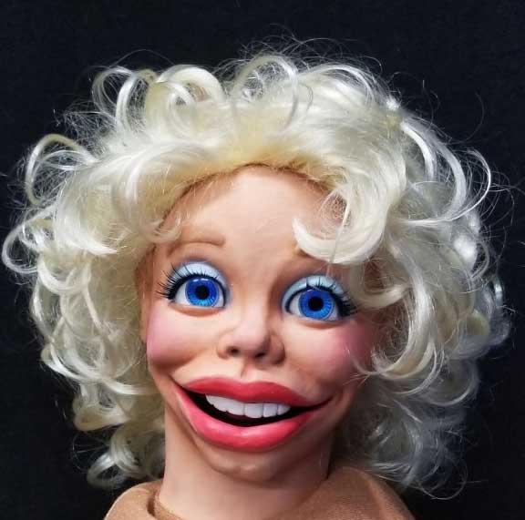 Marilyn Monroe Style Diva Puppet