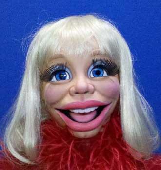 Blonde Diva Puppet
