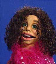 Brown Hair Diva Puppet