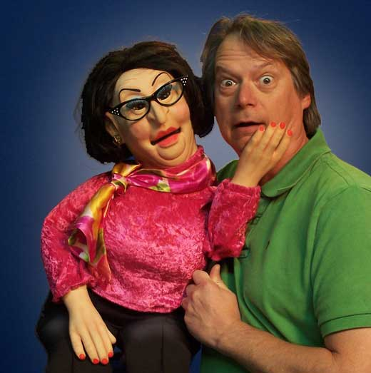 Edna Middle Age Woman Puppet
