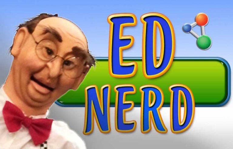 Ed Nerd Puppet