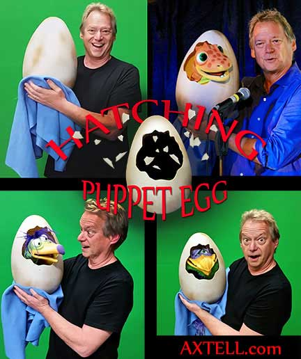 Hatching Egg for Puppets
