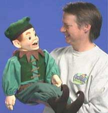 Christmas Elf Puppet