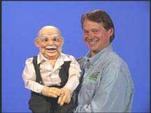 Old Man - Papa Puppet