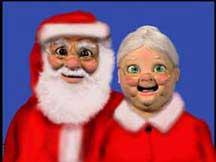 Santa Puppet & Mrs. Claus Puppet