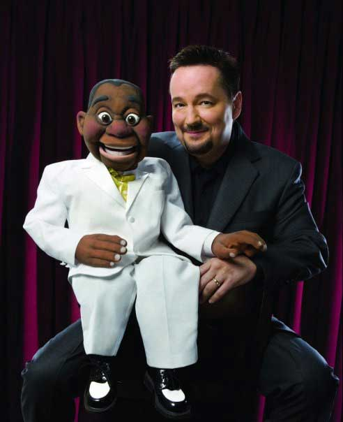 Terry Fator with Julius the Jazz Man Puppet