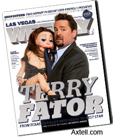 Terry Fator with Vicki