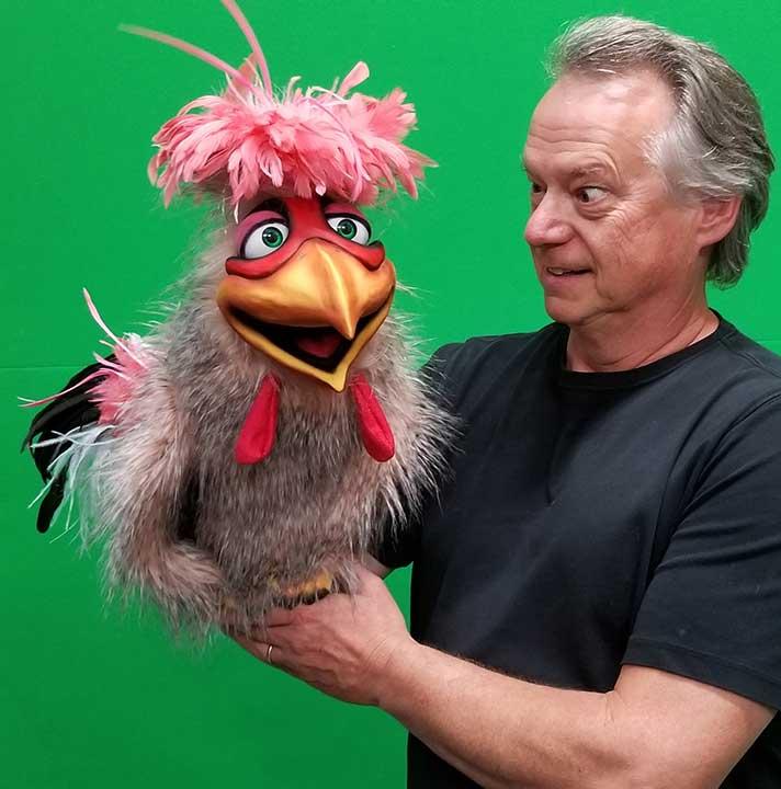Frazzle Chicken Puppet