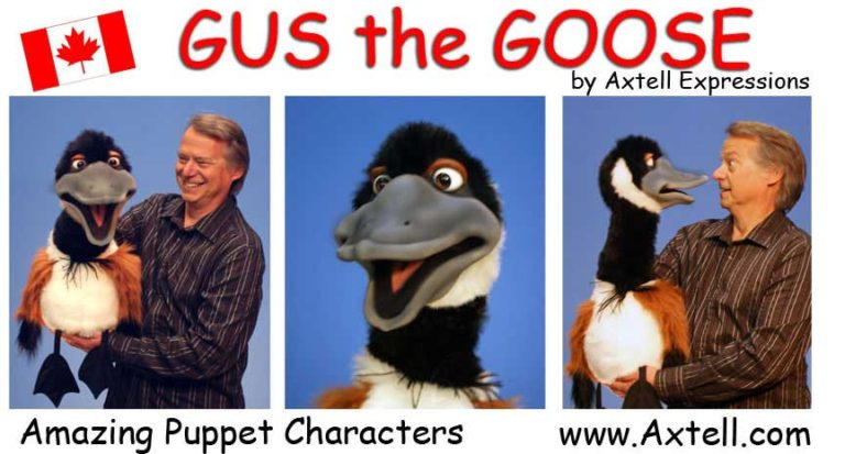 Canadian Goose Puppet