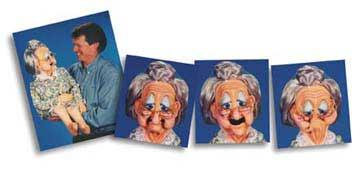 Granny Gertie - Old Lady Grandma Puppet
