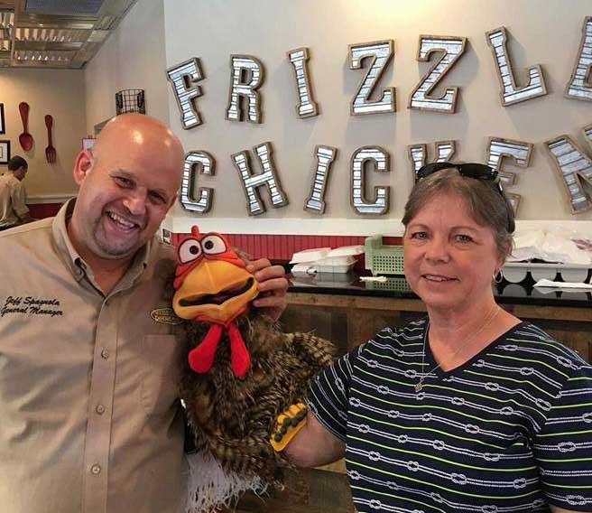 Jeff Spagnola Frizzle Chicken