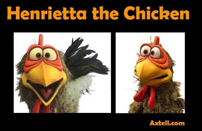 Henrietta Chicken Puppet