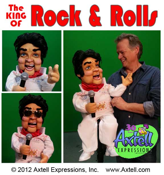 King of Rock Puppet