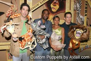 Madagascar Custom Puppets