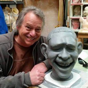 Custom Obama Sculpture