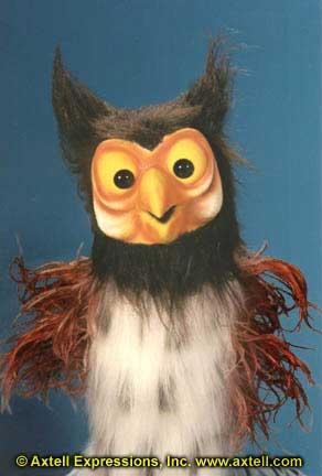 Professor Hoot Owl Puppet