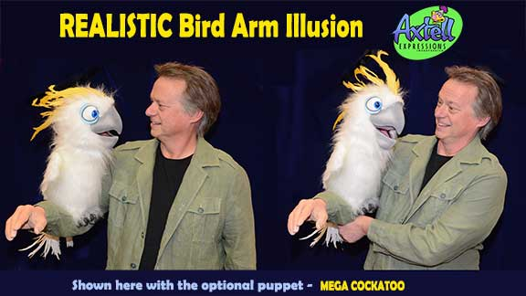 Realistic Bird Arm Illusion