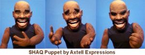 Shaq Custom Puppet