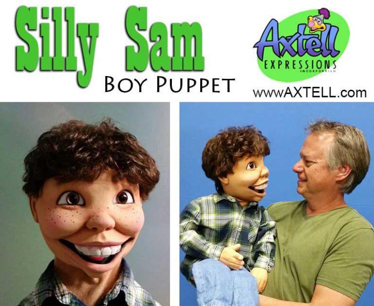 Silly Sam Boy Puppet