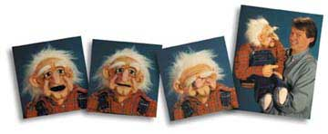 Old Man Storyteller Puppet