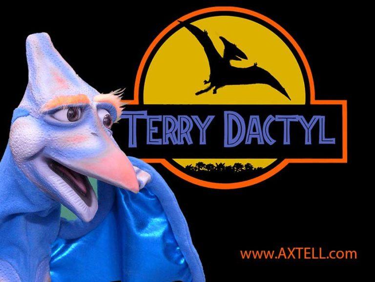 Terry Dactyl Dinosaur Puppet