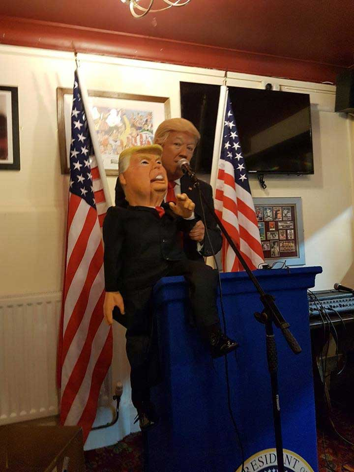 Mike Osman and Trump