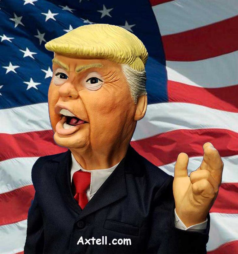 Trump Puppet by Axtell