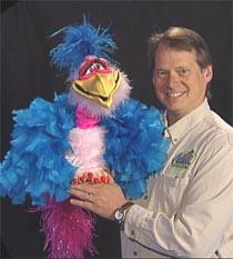 Verna Bird Puppet