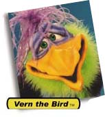 Vern the Bird Puppet