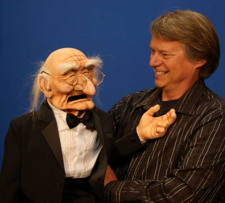 World's Oldest Man Puppet