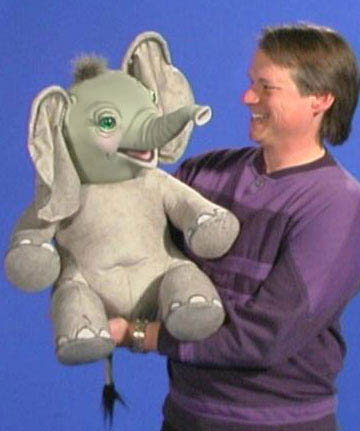Elephant Puppet by Axtell Expressions