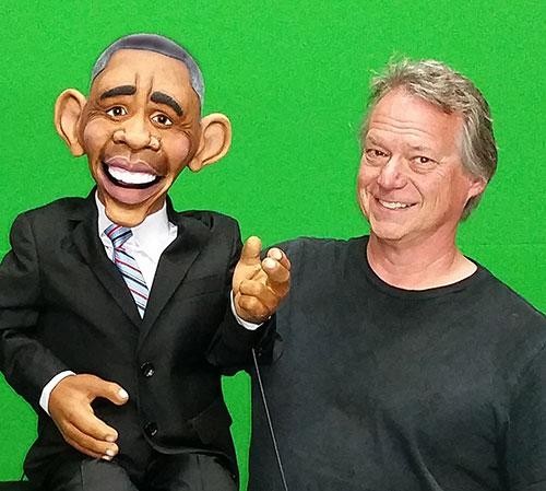 President Obama Puppet