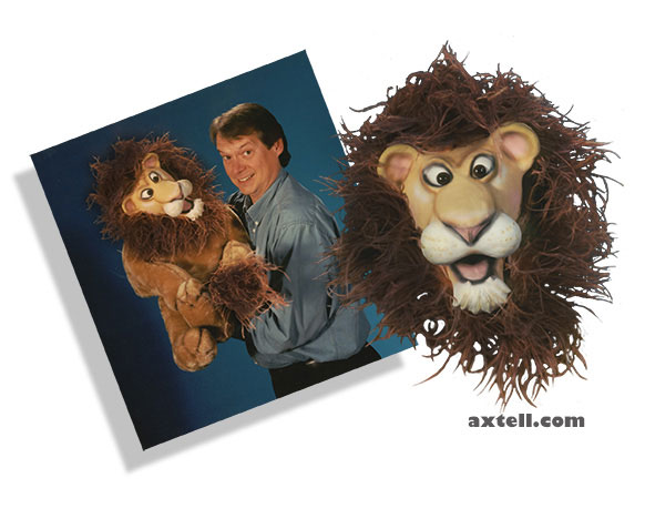 Lion Puppet Photo