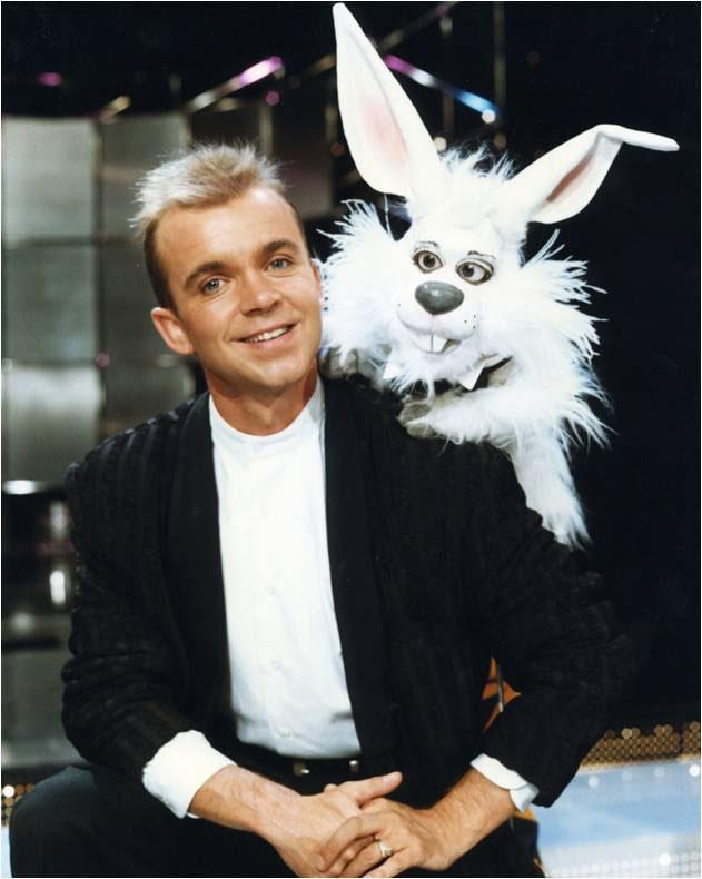 Wayne Dobson and Ringo Rabbit