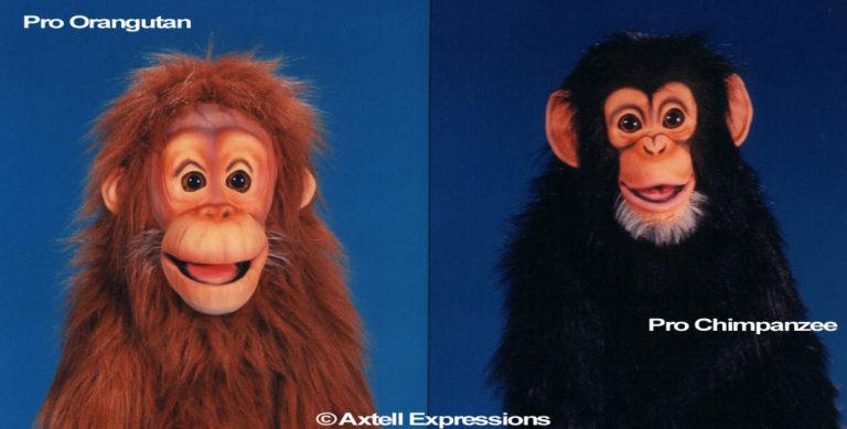 Amazing Apes Pro Puppets
