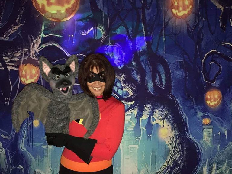 Vikki Gasko with her Bat