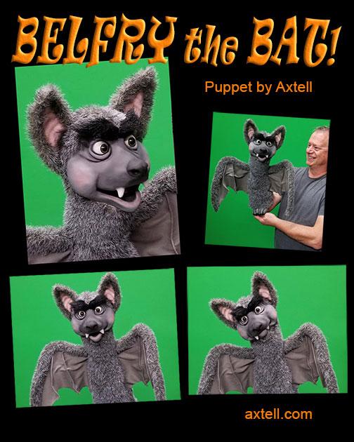 Belfry the Bat Puppet