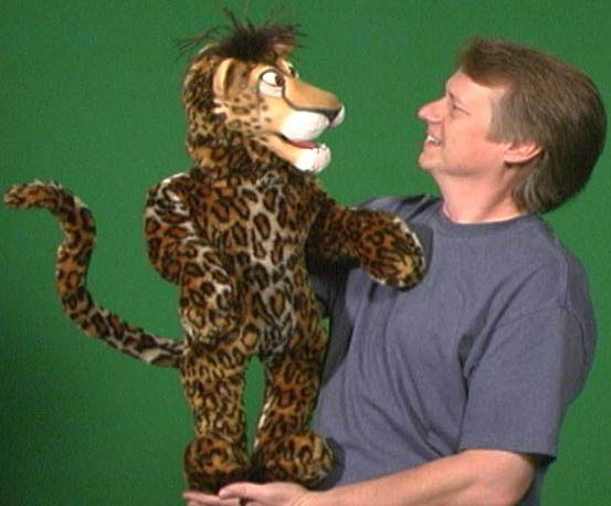 Cheetah Puppet 2