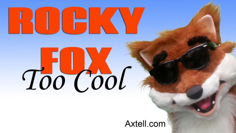 Rocky Fox Puppet