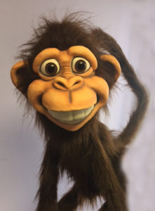 All Brown Funkee Monkey Puppet
